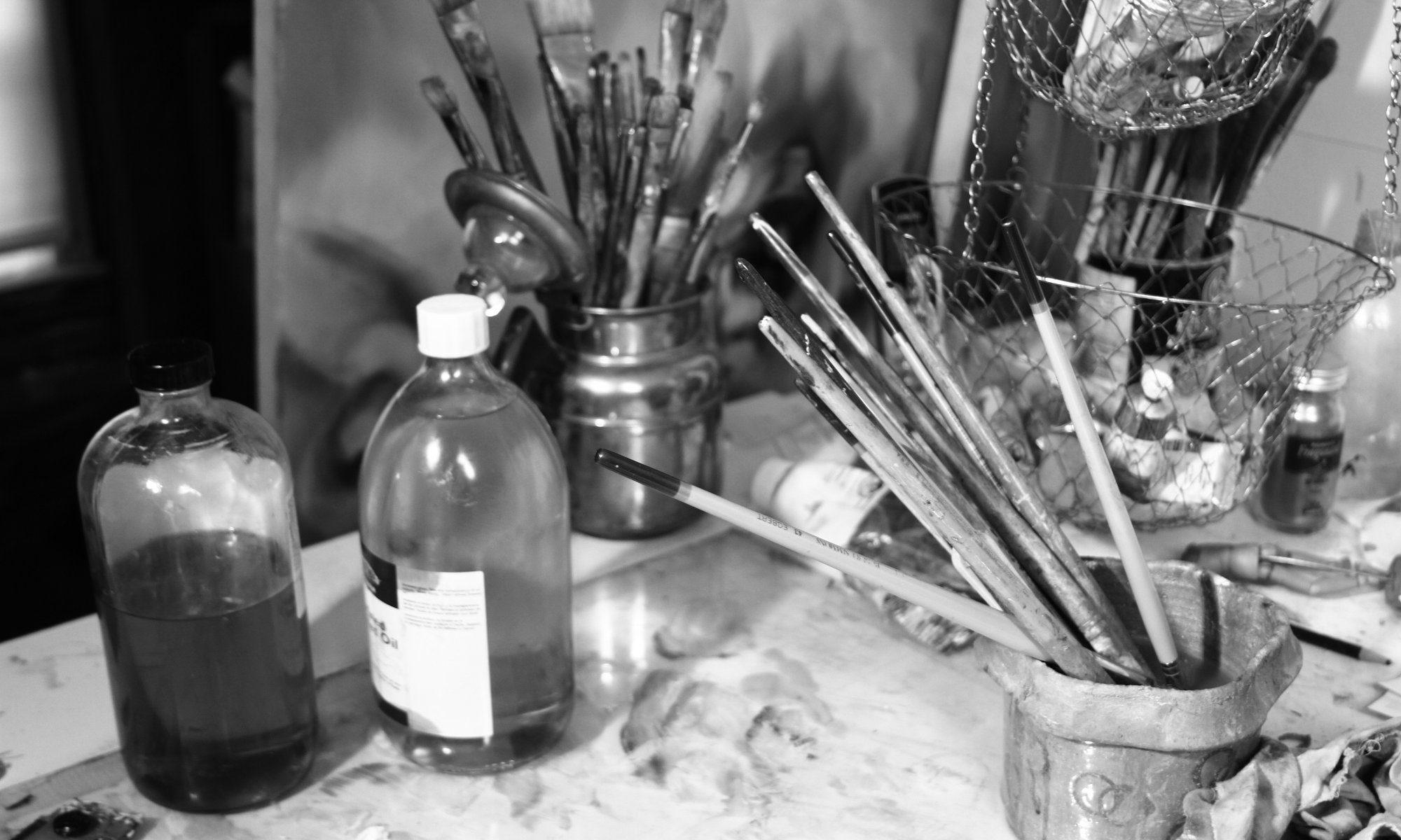 Studio in Black and White