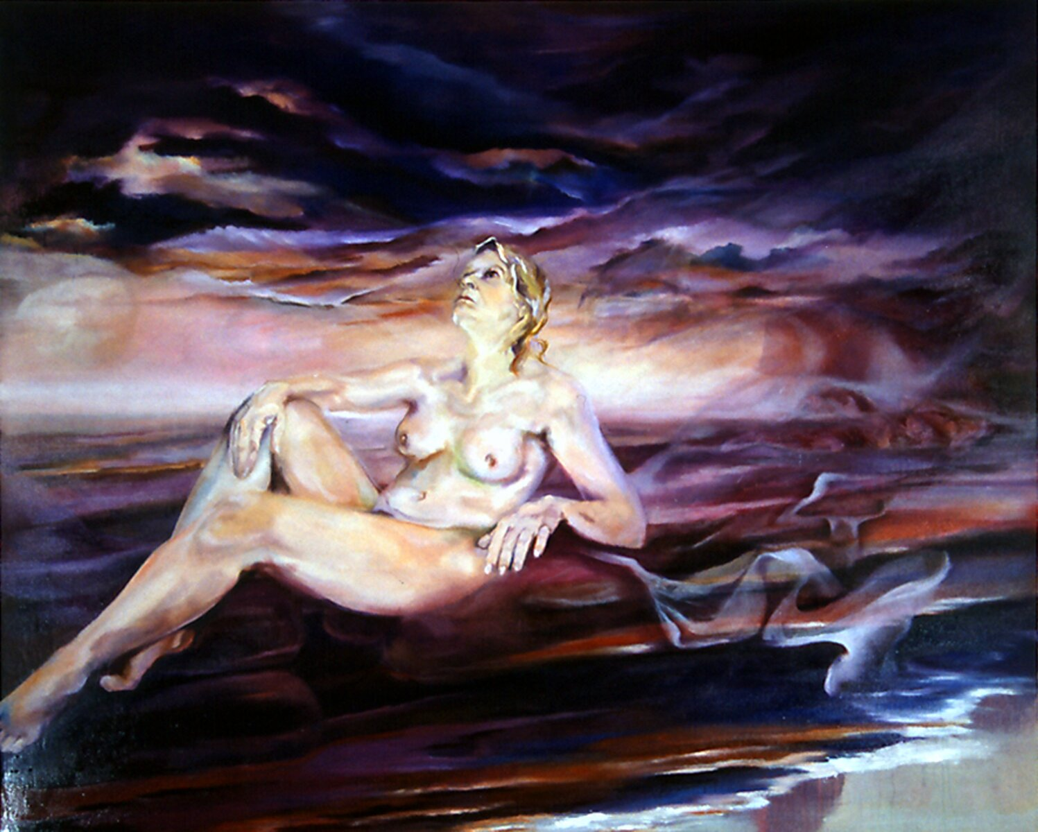 "Deliverance, 2006, Oil on canvas, 60"" x 72"""