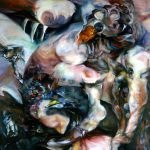 "Infra Red, 2004, Oil on canvas, 60"" x 72"""