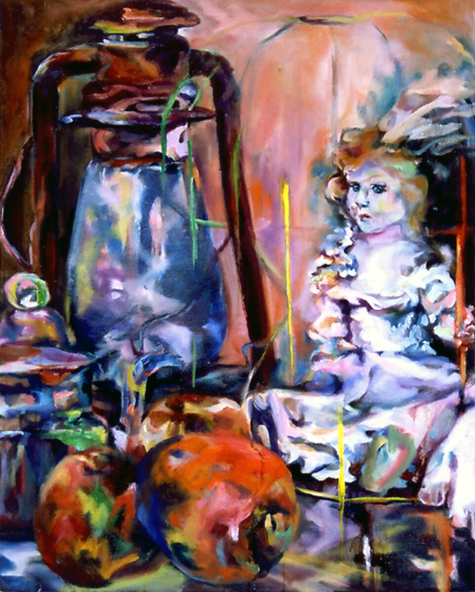 "Unbridaled, 2005, Oil on canvas, 30"" x 24"""
